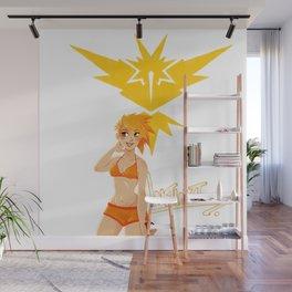 Team Instinct Girl Wall Mural