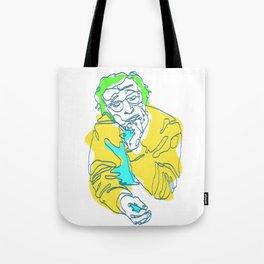Woody Allen Line Art | Poster | Print | Painting Tote Bag