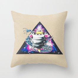 Slowbro Galaxy Throw Pillow