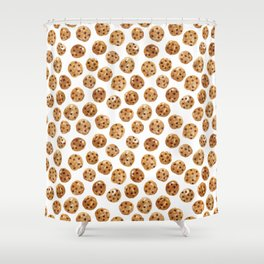 Watercolor Cookies Shower Curtain