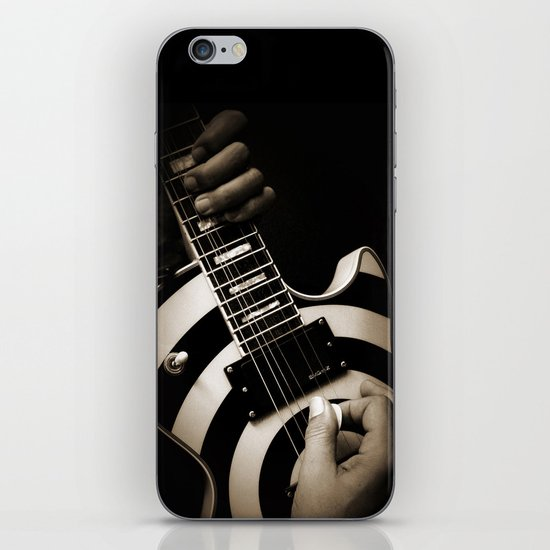 The Guitar Player iPhone & iPod Skin