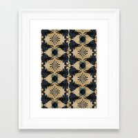 baroque Framed Art Prints featuring Baroque by Laura Sturdy
