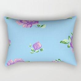 Blue Joys of Spring Rectangular Pillow