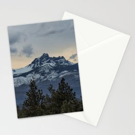 Good Night Mountain Stationery Cards
