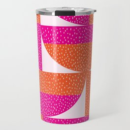 Abstract Marks Travel Mug