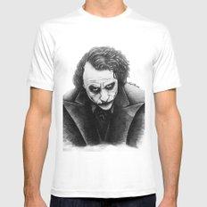 Joker Mens Fitted Tee MEDIUM White