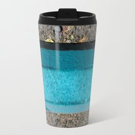 Turquoise Curb Travel Mug