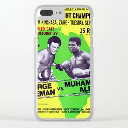 Legendary Heavyweights Contest and Showdown! Clear iPhone Case