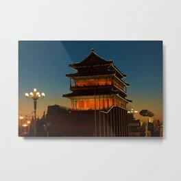 Qianmen Metal Print
