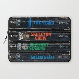 Stephen King Well-Worn Paperbacks Laptop Sleeve