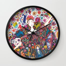 Imaginary journey – Mexico Wall Clock