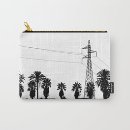 Power Pole Between Palms Carry-All Pouch