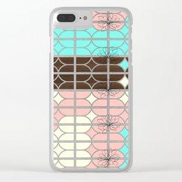 desert modernism Clear iPhone Case