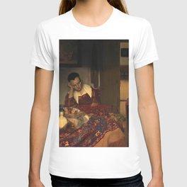 "Johannes Vermeer ""A Woman Asleep at Table"" T-shirt"