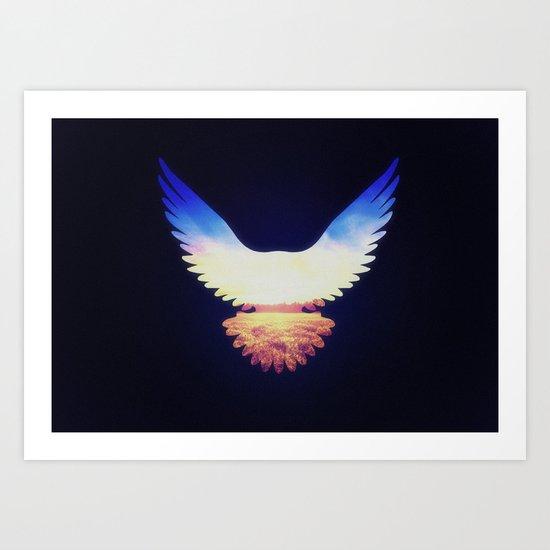 The Wild Wings Art Print
