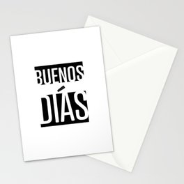 Buenos Días Stationery Cards