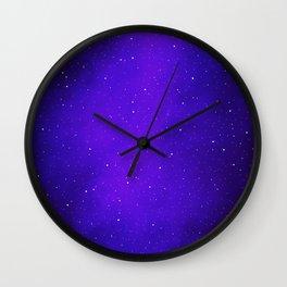 Oh the Stars Wall Clock