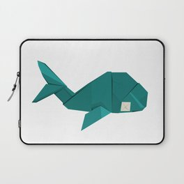 Origami Whale Laptop Sleeve
