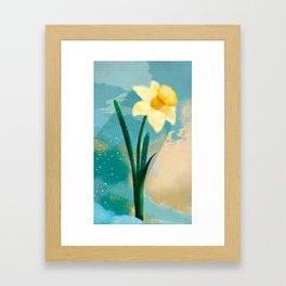 March Framed Art Print
