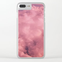 Cotton Candy II Clear iPhone Case