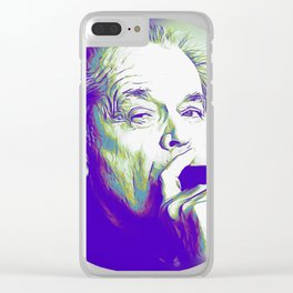 Jack Nicholson Clear iPhone Case