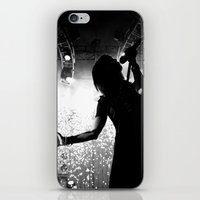 hayley williams iPhone & iPod Skins featuring Hayley Williams #2 by Ethan Luck