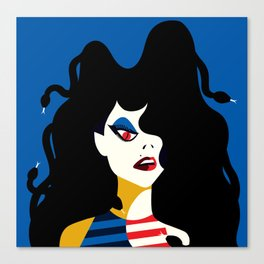 M is for MEDUSA Canvas Print