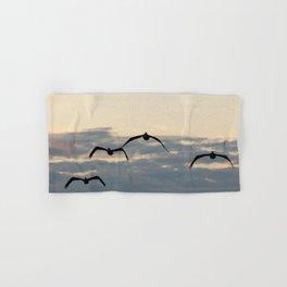 Pelicans in the Sky Hand & Bath Towel