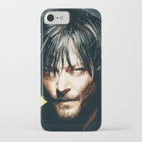daryl iPhone & iPod Cases featuring Daryl Dixon by p1xer