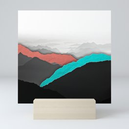 Mountain Highlights Mini Art Print