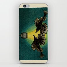 Sea Moths iPhone & iPod Skin