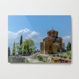 St.Jovan Kaneo,Ohrid,Macedonia Metal Print
