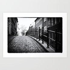 Stockholm Noir no. II Art Print