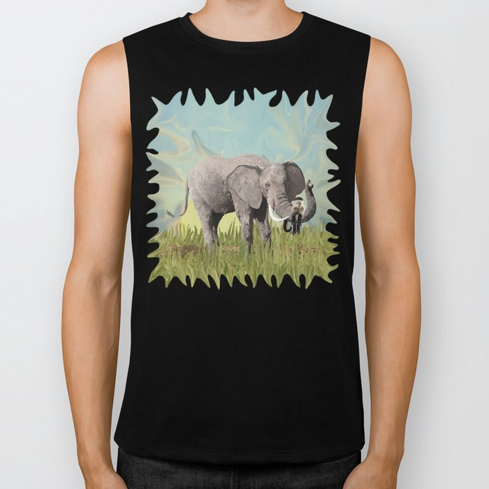 Monkeying Around the Trunk Biker Tank