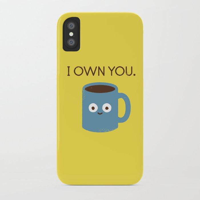 coffee talk iphone case