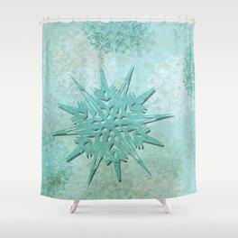 diamond dust Shower Curtain
