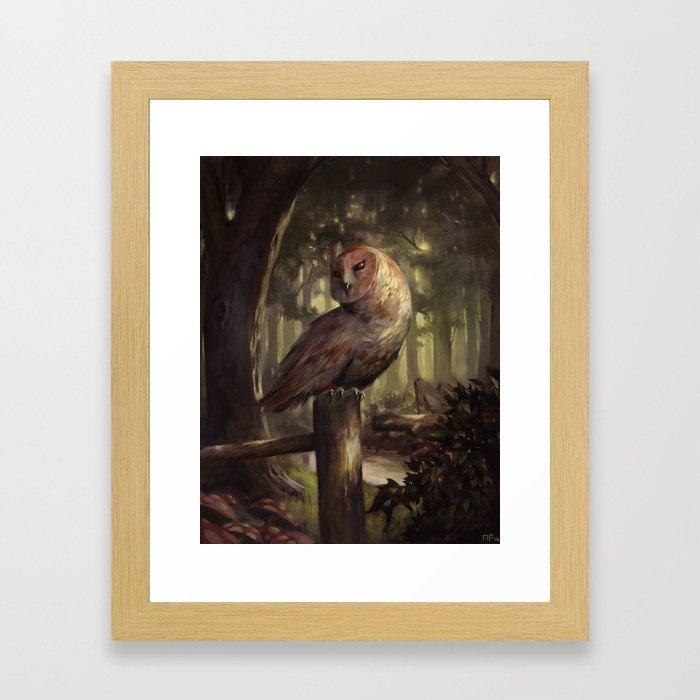 Off-Course Framed Art Print