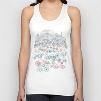 old Tank Tops featuring Old Town Bikes by David Fleck