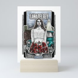 Born To Die Mini Art Print