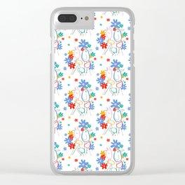 STRUT Pattern Clear iPhone Case