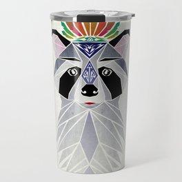 raccoon spirit Travel Mug