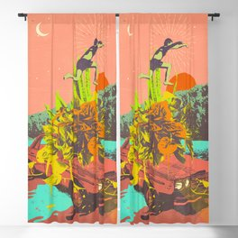SUMMER VIBES Blackout Curtain