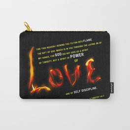 Love's Flame Carry-All Pouch