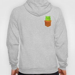 Catus in a pocket Hoody
