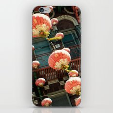 Chinese Lanterns iPhone & iPod Skin