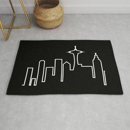 Seattle Skyline (Frasier) Rug