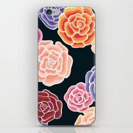 rosy days iPhone Skin