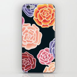 rosy days iPhone Skin