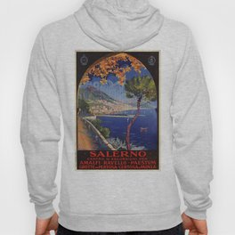 Salerno Italy vintage summer travel ad Hoody