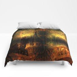 Monster of the Pumpkin Castle Comforters